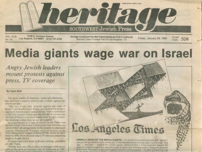 The Heritage - January 29,1988